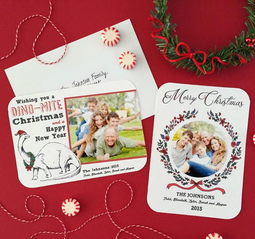 Personalized Printable Christmas Photo Cards