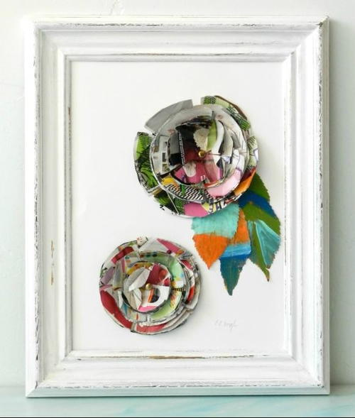 Junk Mail DIY Wall Art
