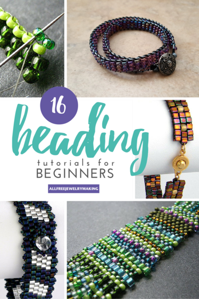 Beginner Beading Tutorials How to Peyote Stitch Brick Stitch Square Stitch and More