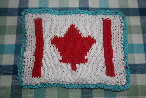 Patriotic Dishcloth