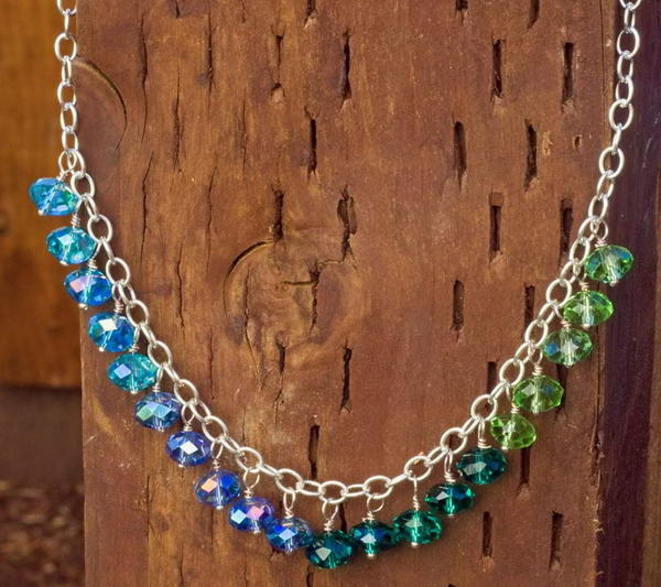 Ombre Rhondelle Necklace