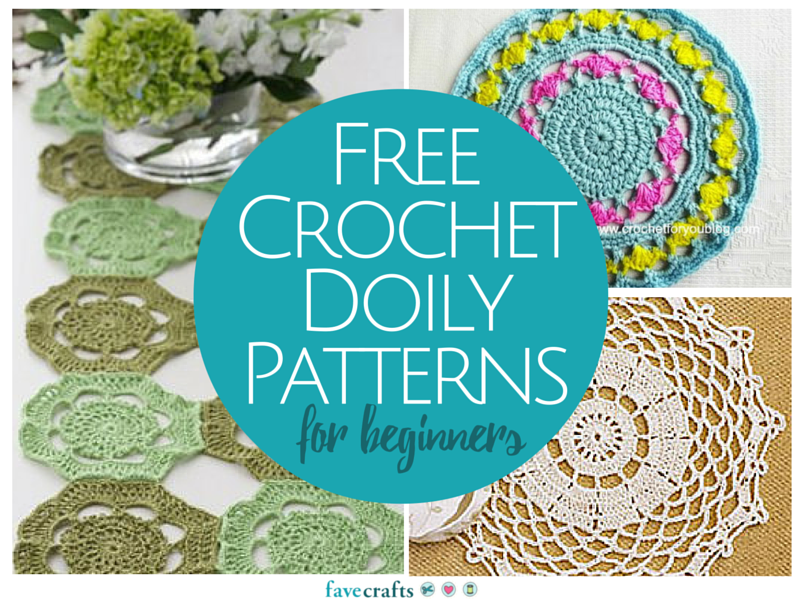 Free Printable Crochet Lace Patterns : 13 Free Crochet Doily Patterns for Beginners FaveCrafts.com
