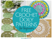 14 Free Crochet Doily Patterns for Beginners