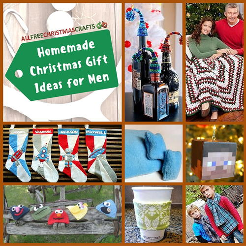 25 Homemade Christmas Gift Ideas for Men | AllFreeChristmasCrafts.com