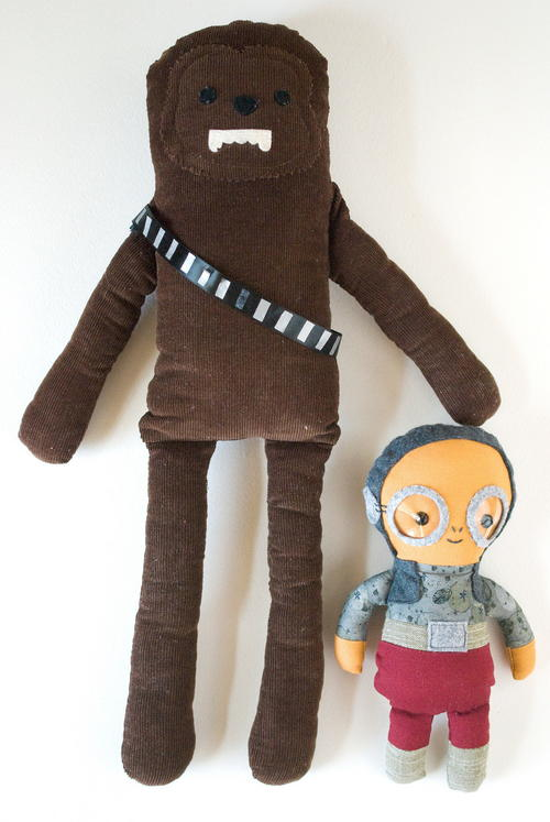 Star Wars Inspired Homemade Dolls