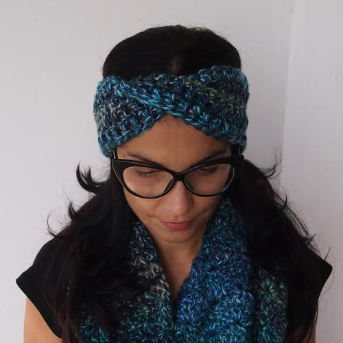 Best friend twisted turban headband