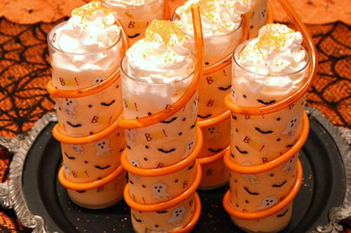 Spine Chillin Halloween Ice Cream Floats