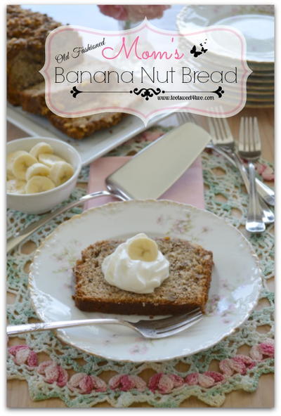 Mom's Old-Fashioned Banana Nut Bread