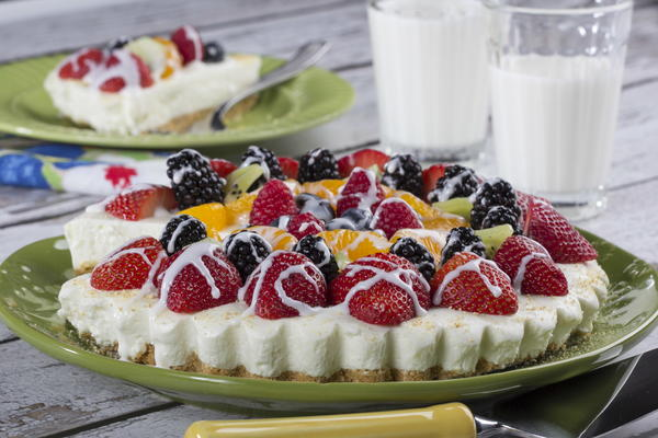 Lemon Cream Fruit Tart