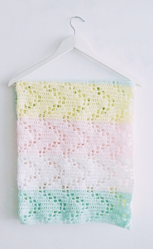 Hopscotch Crochet Blanket Pattern