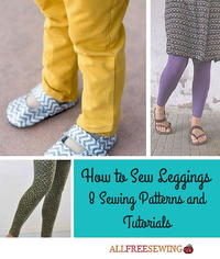 How to Sew Leggings: 8 Sewing Patterns and Tutorials
