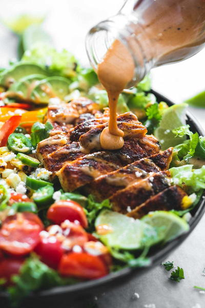 Fiesta Lime Chicken Salad