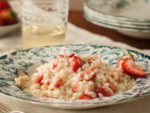 Risotto con Fragole (Strawberry Risotto)