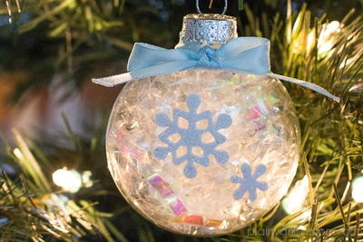 Elegant Snowflake DIY Ornament