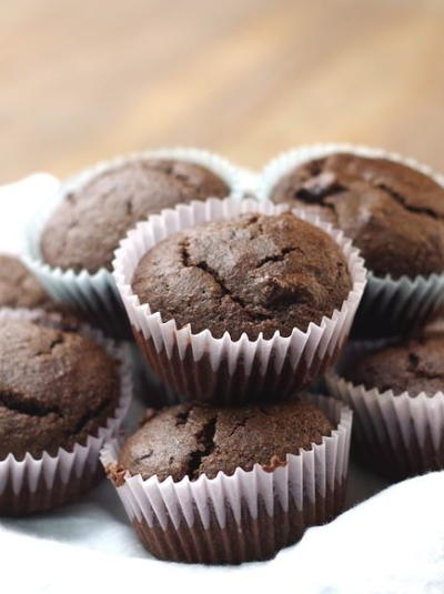 Gluten Free Double-Chocolate Muffins