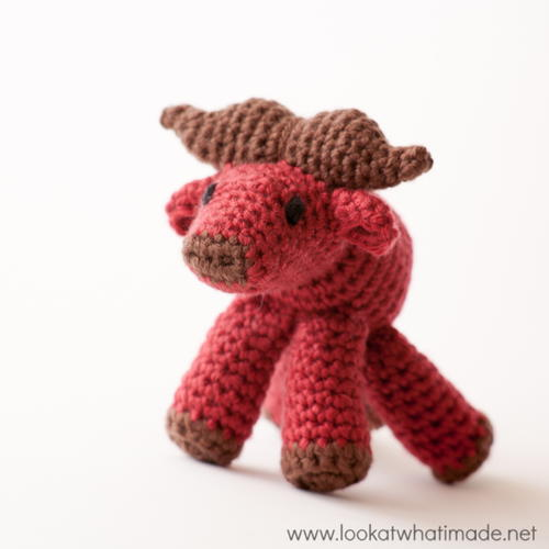 Little Zoo Crochet Water Buffalo