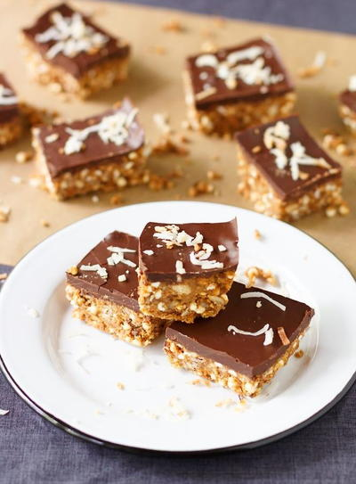 Nutty Chocolate Power Bar Recipe