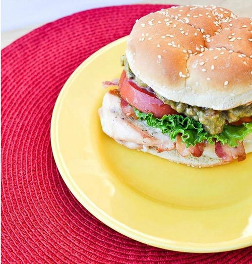 Copycat Red Robin California Chicken Breast Sandwich
