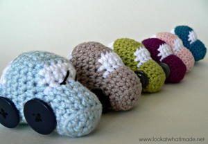 Crochet Vehicles Little Car Toys