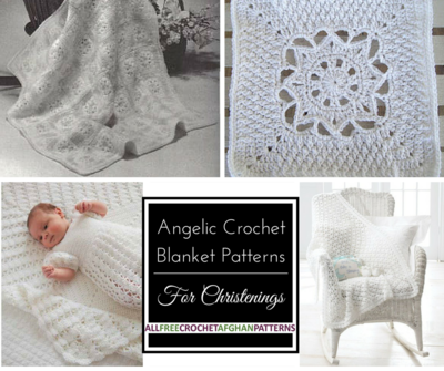 Angelic Crochet Blanket Patterns for Christenings