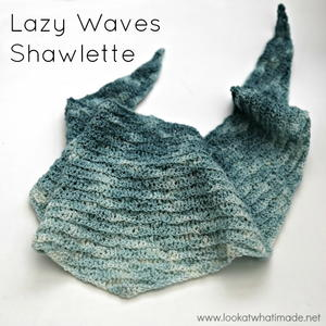 Lazy Waves Shawlette