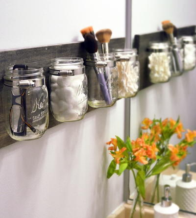 Cleaning Tips for Mason Jar Organizer