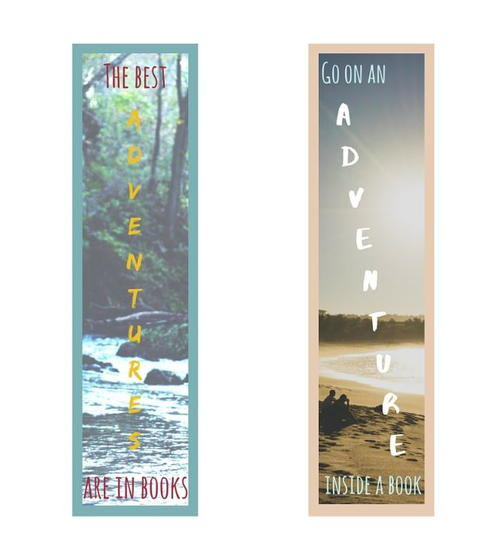 Book Adventures Printable Bookmarks