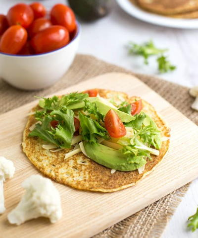Low-Carb Cauliflower Tortilla Recipe