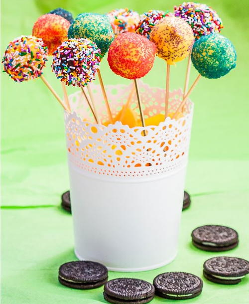 Cream Cheese Oreo No-Bake Cake Pops