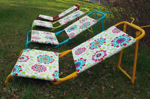 Outdoor DIY Sun Loungers