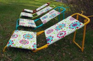 Tremendous Outdoor Diy Sun Loungers Diyideacenter Com Creativecarmelina Interior Chair Design Creativecarmelinacom