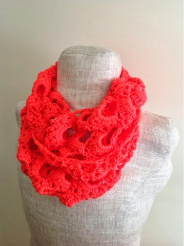 Coral Reef Infinity Scarf Pattern