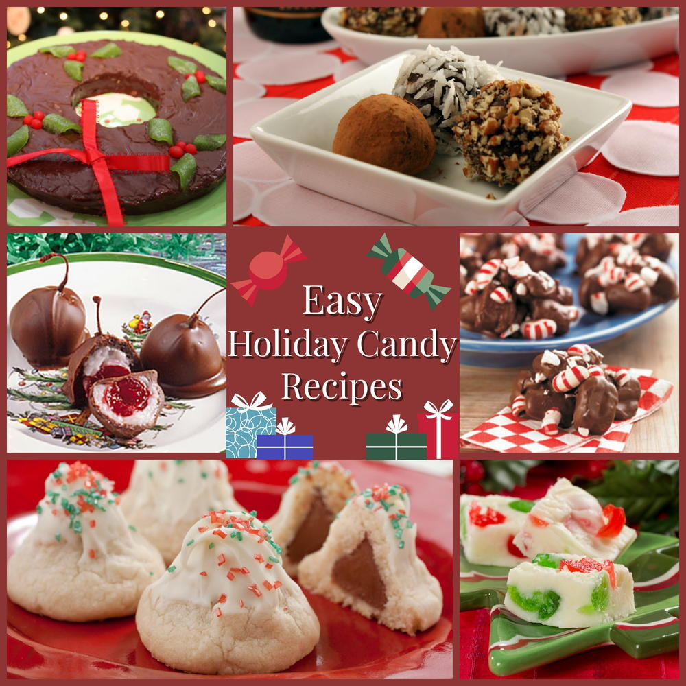 Best Christmas Candy Recipes.10 Easy Holiday Candy Recipes Mrfood Com