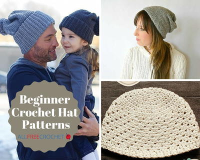 44 Beginner Crochet Hat Patterns