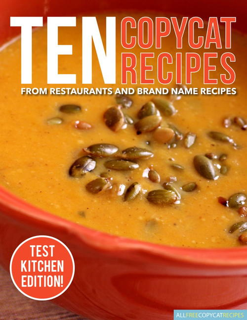Ten Copycat Recipes eBook