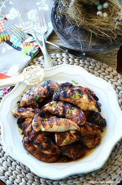 Grilled Balsamic Chicken Breasts