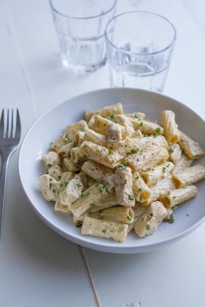 Chicken Alfredo Pesto Pasta Recipe