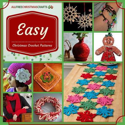 23 Easy Christmas Crochet Patterns Allfreechristmascraftscom
