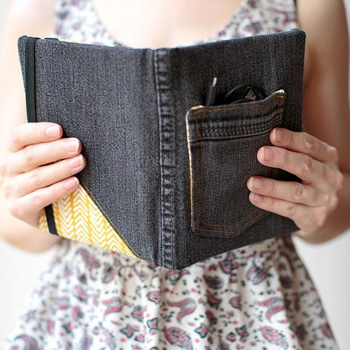 Book Cover Black Jeans : Stylish diy tablet case diyideacenter