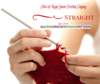 How to Keep Your Crochet Edging Straight
