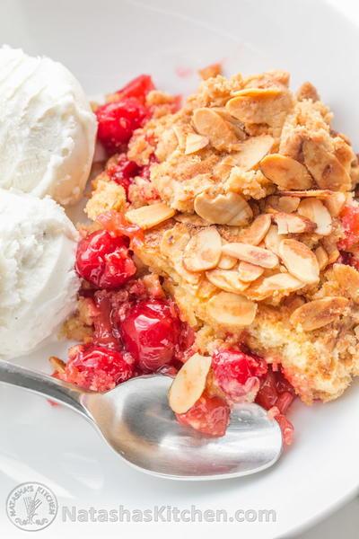 Pineapple Cherry Dump Cake