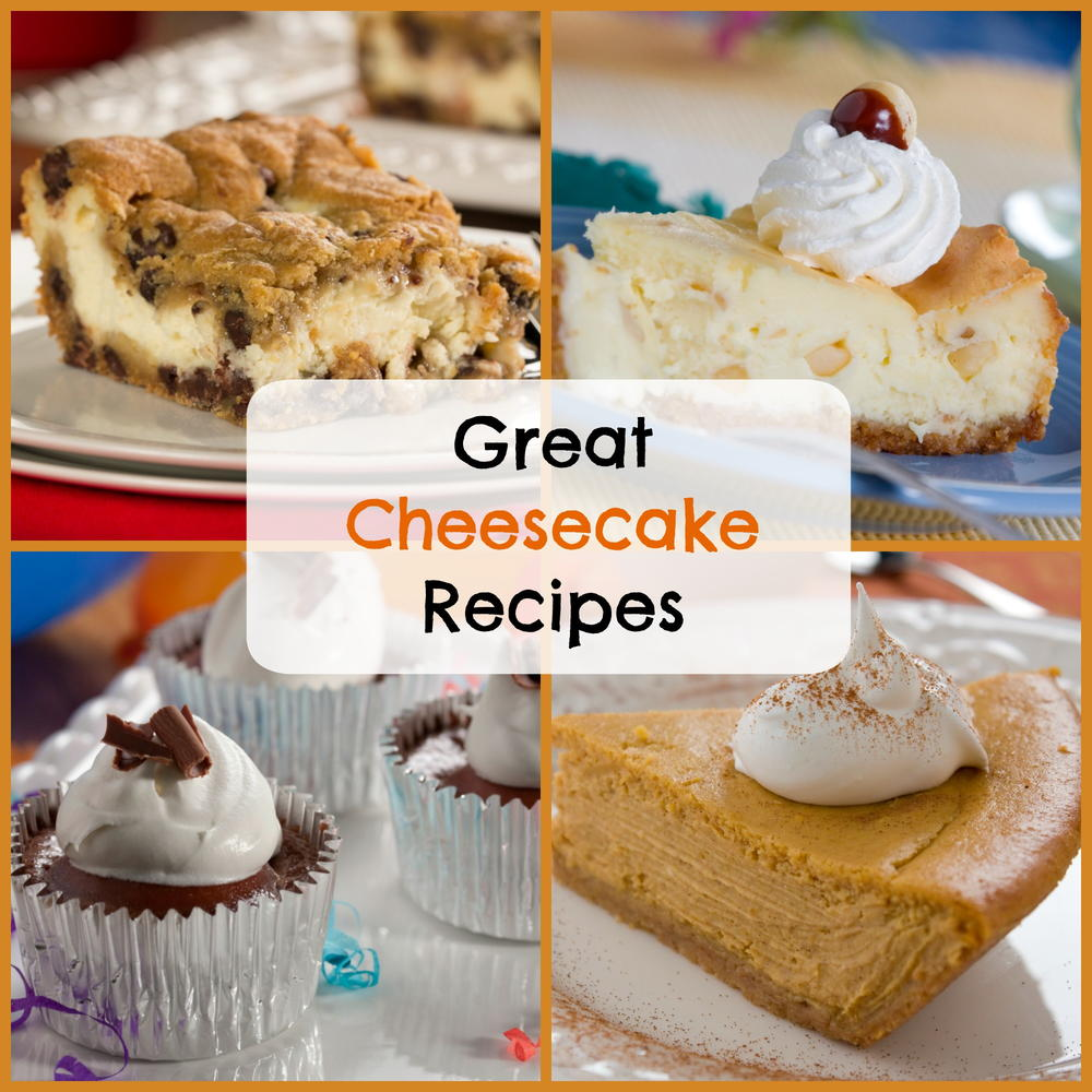 top 14 great cheesecake recipes mrfood