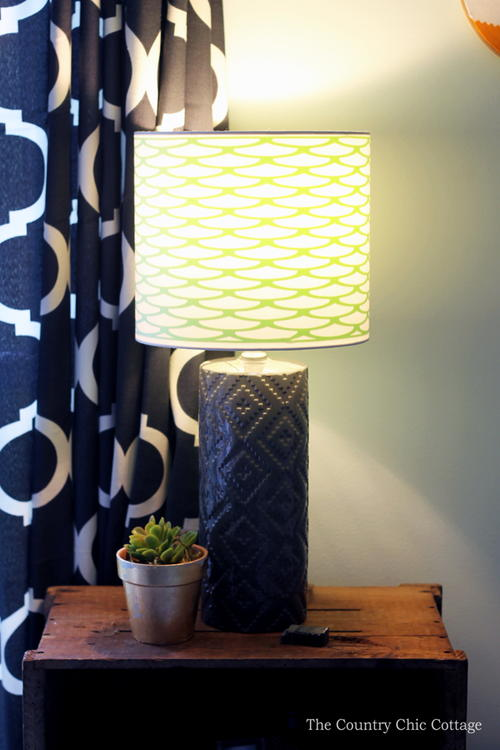 Patterned-Up Lampshade