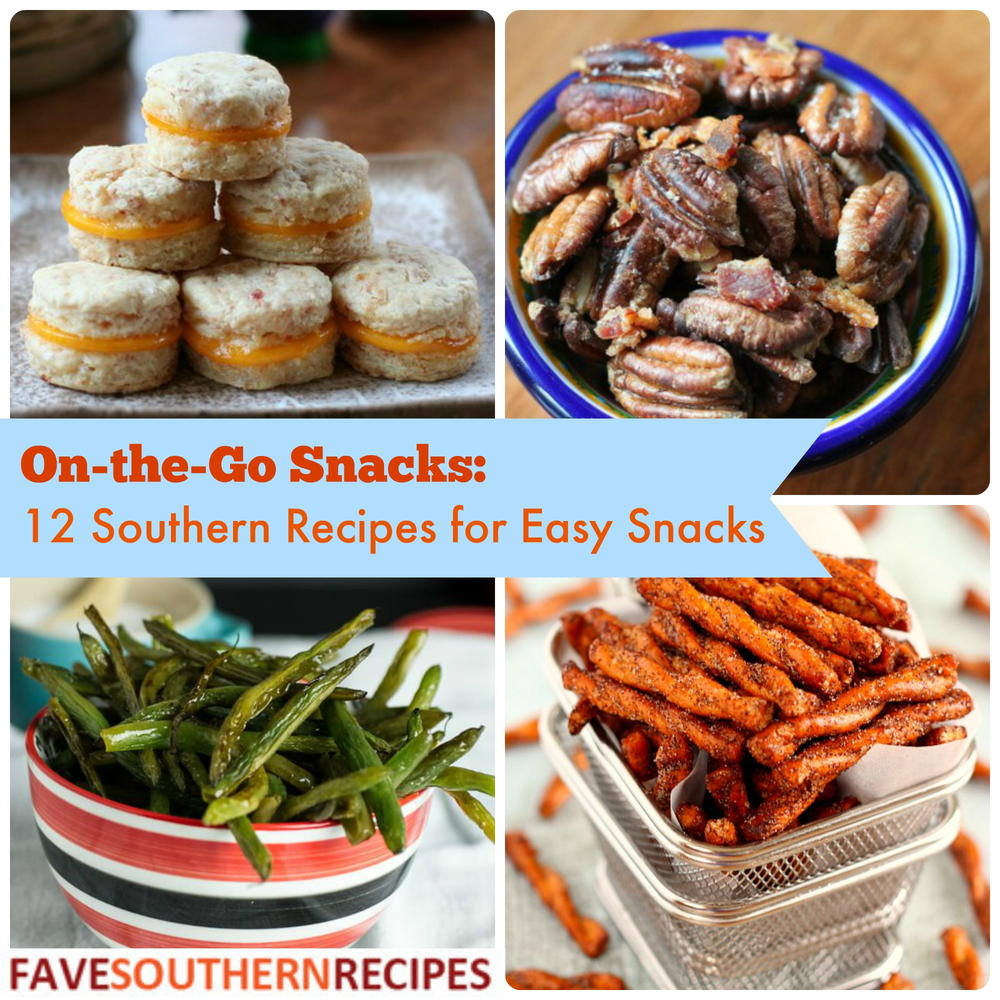 On-the-Go Snacks: 12 Southern Recipes For Easy Snacks