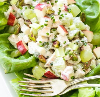 Grilled Chicken Waldorf Salad