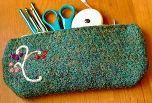 One Hour Crochet Hook Case
