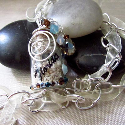 Coastal Beach DIY Necklace Pendat