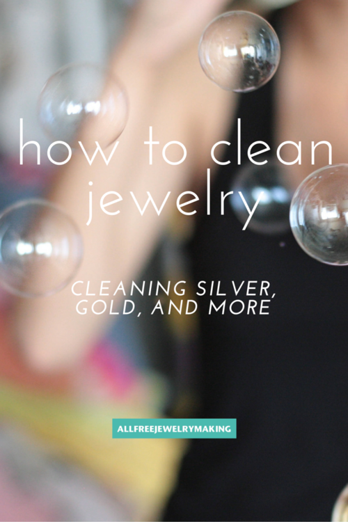 How to Clean Jewelry Cleaning Silver Gold and More
