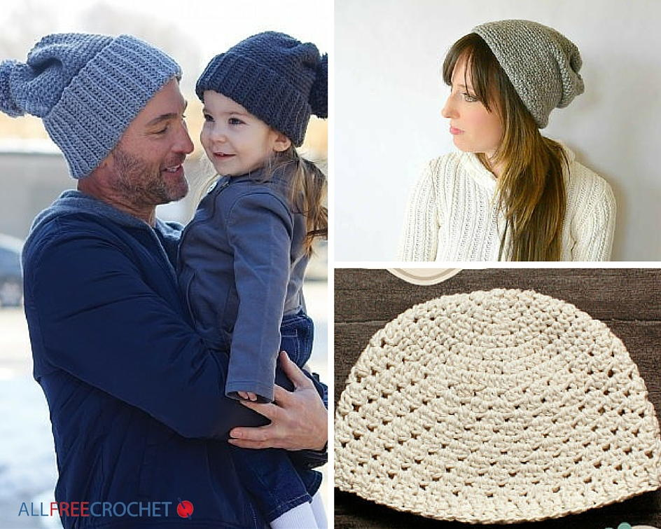 aaa5de7d25c 50+ Free Crochet Hat Patterns for Beginners