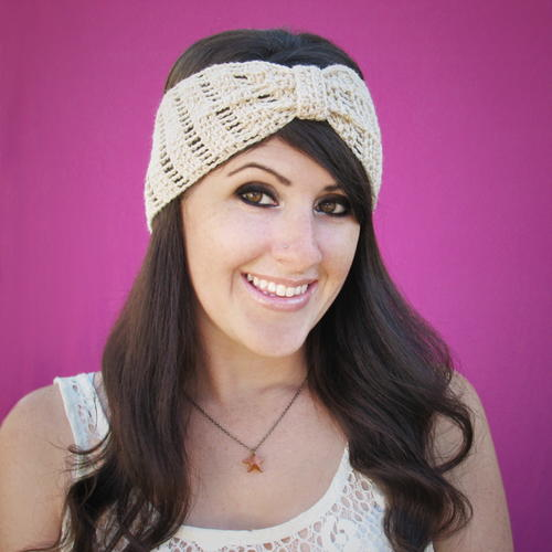 Stylishly Simple Beginner Crochet Headband